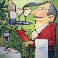 The Wine Steward Fine Art Print