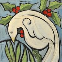 Winter Peace Dove Fine Art Print