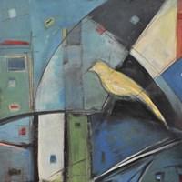 Yellow Bird 1 Framed Print