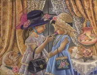 Playing Dress Up Fine Art Print