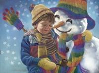 Eskimo Kiss Fine Art Print