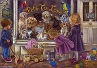 Pets To Love Fine Art Print
