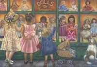 Dolls To Treasure Fine Art Print