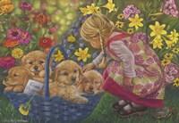 Basket Full Of Love Fine Art Print