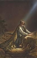 Jesus Kneeling Fine Art Print