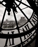 Big Clock Fine Art Print