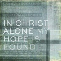 In Christ Alone Fine Art Print