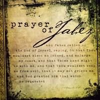 Prayer Of Jabez Fine Art Print