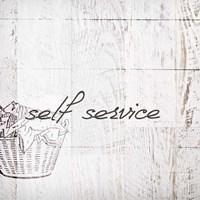 Self Service Fine Art Print