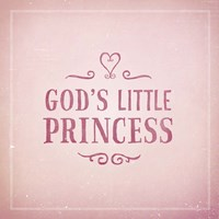 God's Little Princess Fine Art Print