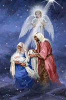 Joseph And Mary Fine Art Print