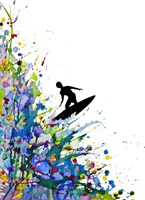 A Pollock's Point Break Fine Art Print