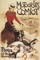 Motocyles Comiot Fine Art Print