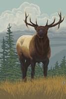 Elk 1 Fine Art Print