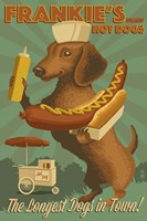 Farnkie's Hot Dogs Fine Art Print