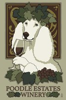 Poodle Estates Winery Fine Art Print