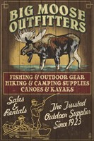 Big Moose Outfitters Framed Print