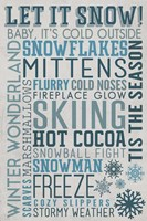 Let it Snow Fine Art Print