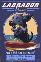 Labrador Boats Fine Art Print