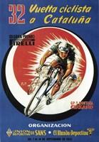 32 Vuelto Ciclista Cataluna Fine Art Print