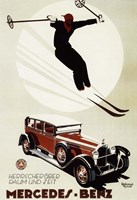 Mercedes Benz Fine Art Print