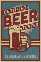 Beer Tester Fine Art Print