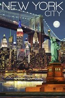 New York City 1 Fine Art Print