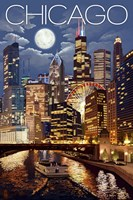 Chicago IL Fine Art Print
