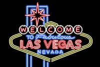Welcome to Las Vegas Fine Art Print