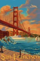 San Francisco CA Fine Art Print