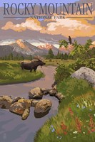 Rocky Mountain 2 Fine Art Print
