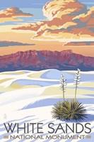 White Sands Fine Art Print