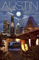 Austin TX Framed Print