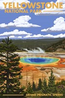 Yellowstone 2 Fine Art Print