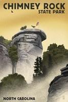 Chimney rock Fine Art Print