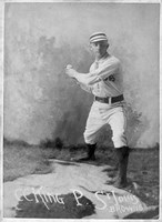 Vintage Baseball 24 Framed Print