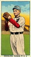 Vintage Baseball 28 Fine Art Print