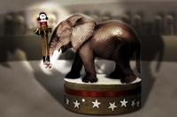 Elephant Dancer Fine Art Print