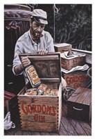 Gordons Gin Humphrey Bogart Fine Art Print