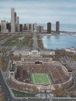 Chicago's Soldier Field Fine Art Print