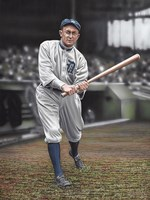 Ty Cobb Batters On Deck Fine Art Print