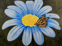 Butterfly Lunch on Flower Fine Art Print