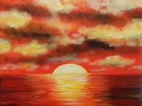 Sunny Ocean Fine Art Print