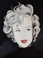 Kissy Face Marilyn Framed Print