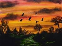 The Flock Fine Art Print