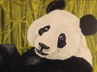 Happy Panda Fine Art Print