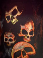 Rock N Bones Fine Art Print