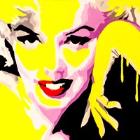 Temptress Marilyn Monroe Fine Art Print