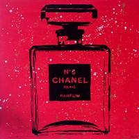 Chanel Pop Art Red Chic Fine Art Print