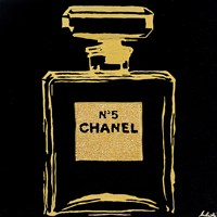 Chanel Black Urban Chic Fine Art Print